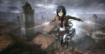 Muestran primer gameplay de <em>Attack on Titan</em> en PS3 y PS Vita