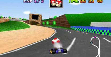 Mira el insano Glitch de <em>Mario Kart 64</em>