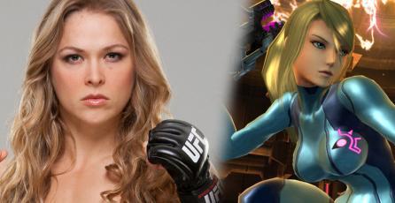 A Ronda Rousey le encantaría ser Samus Aran
