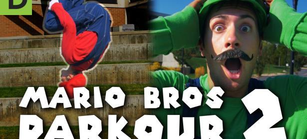 No te pierdas este genial video de <em>Super Mario Parkour</em>