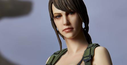Ésta es la nueva figura de Quiet de <em>MGS V</em>