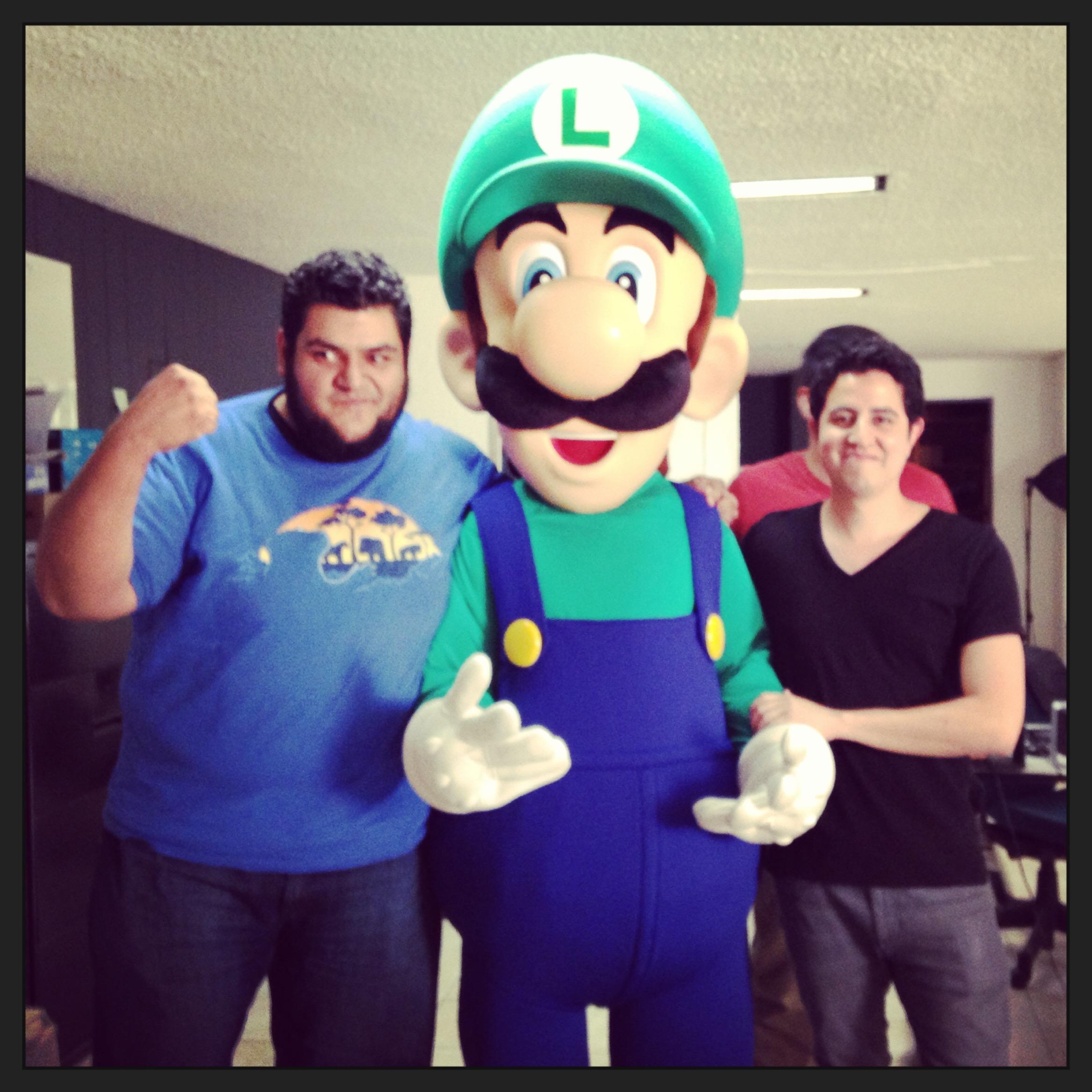 Rex y Urovoros con Mario Verde