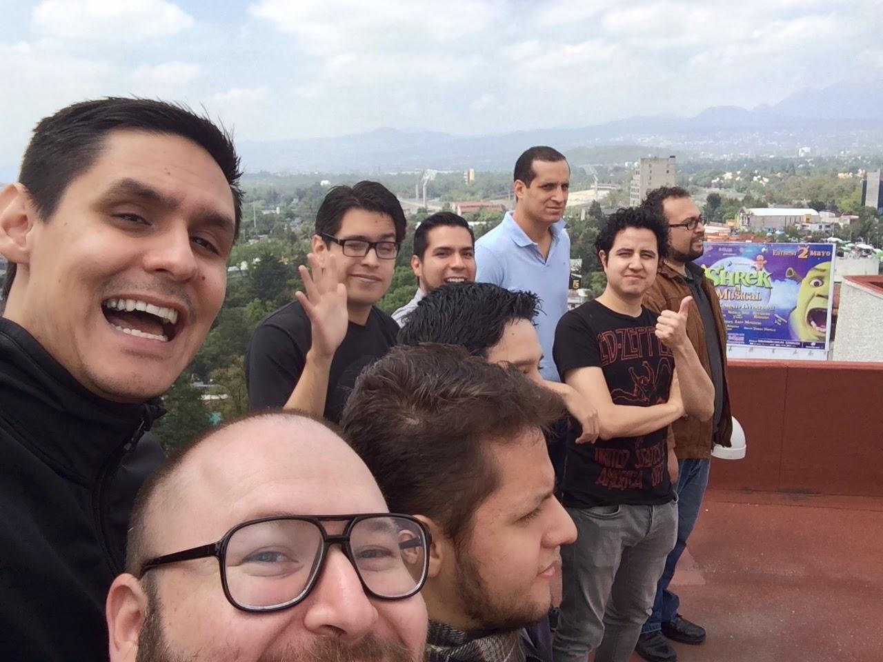 El equipo del E3 2014