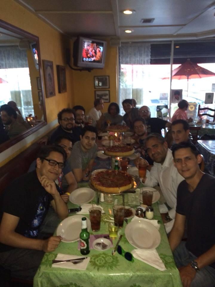 Pizza y diversión en Los Angeles