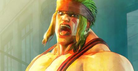 Así luce Alex en <em>Street Fighter V</em>