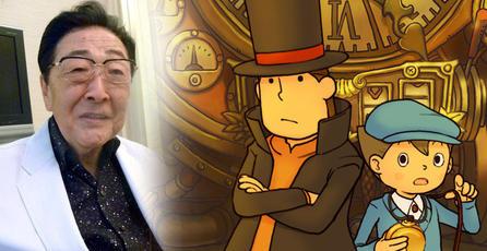 """Fallece Akira Tago, el """"Puzzle Master"""" de <em>Professor Layton</em>"""