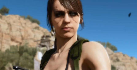 Quiet ya está disponible en <em>Metal Gear Online</em>