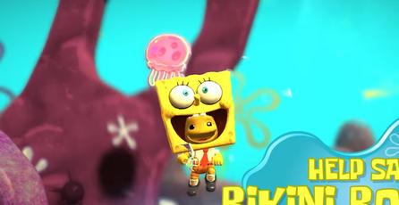 Bob Esponja llega a <em>LittleBigPlanet 3</em>