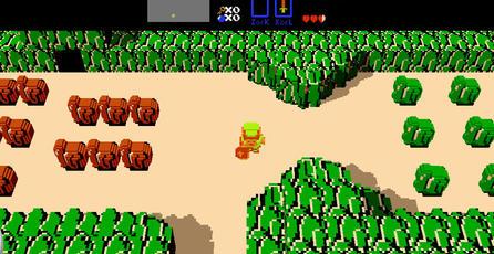 Crean versión tridimensional del primer <em>The Legend of Zelda</em>