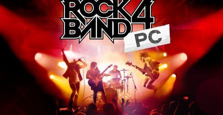 Fracasa campaña de crowdfunding de <em>Rock Band 4</em> para PC
