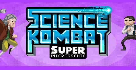 Los científicos y pensadores del mundo pelean en <em>Science Kombat</em>
