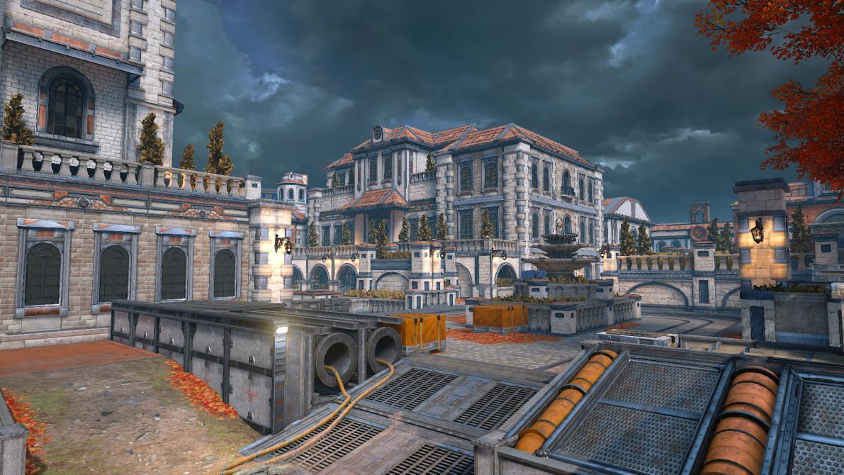 Los mapas de <em>Gears of War 4</em>