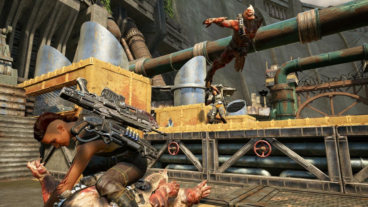 Nuevas imágenes de <em>Gears of War 4</em>