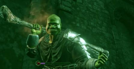 Mira a Shrek defender su pantano en <em>Dark Souls III</em>
