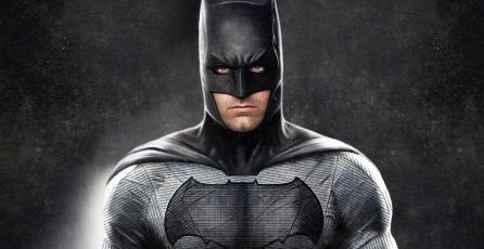 Square Enix presenta figura de Batman en blanco y negro