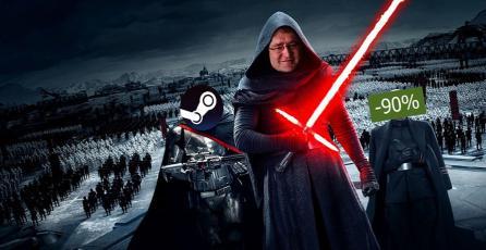 Llegaron las ofertas de <em>Star Wars</em> a Steam