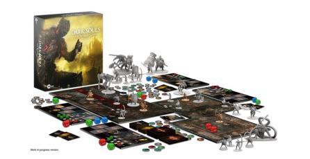Termina con éxito campaña de juego de mesa de <em>Dark Souls</em>