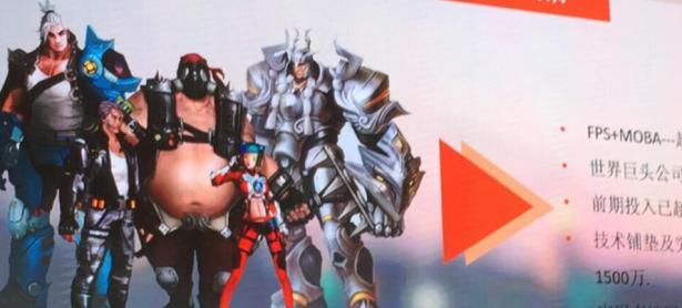 Compañía China está produciendo un videojuego similar a <em>Overwatch</em>