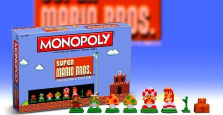 <em>Super Mario Bros.</em> ya tiene su propio tablero de Monopoly