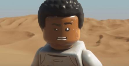 Mira el avance de <em>LEGO Star Wars</em> protagonizado por Finn