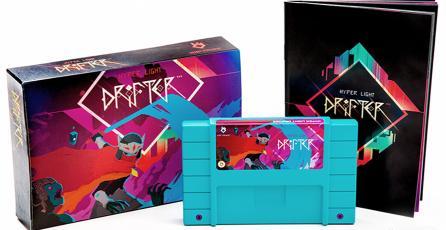 La edición coleccionista de <em>Hyper Light Drifter</em> vendrá con un cartucho de SNES