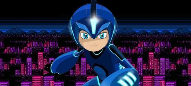 Este es el nuevo look de Mega Man para su serie animada