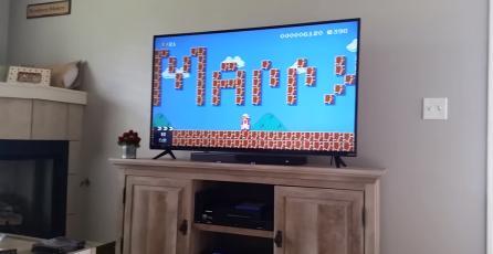 Super Mario Maker fue usado para proponer matrimonio
