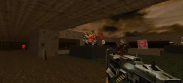 El original <em>DOOM</em> recibe armas del más reciente juego de la franquicia