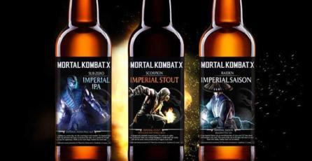 Dale un vistazo a la cervezas artesanales de <em>Mortal Kombat</em>