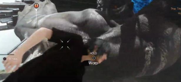 Mira un impresionante combate de <em>Final Fantasy XV</em>