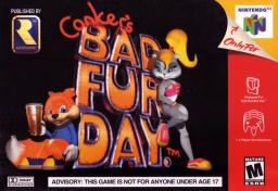 Conkers Bad Fur Day