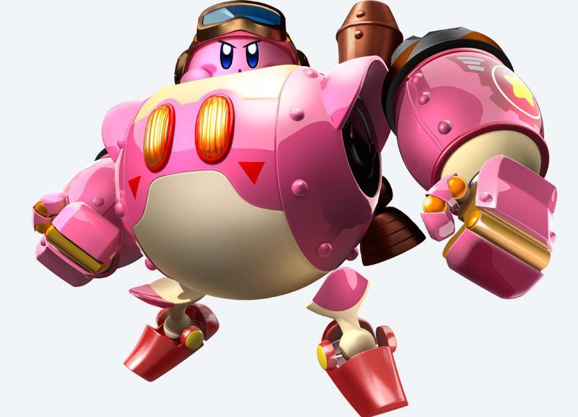 Kirby está de regreso y no te defraudará en Planet Robobot