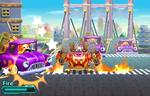 El uso del robot le da una nueva dimensión a la serie de Kirby