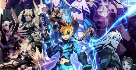 Mira 13 minutos de gameplay de <em>Azure Striker Gunvolt 2</em>