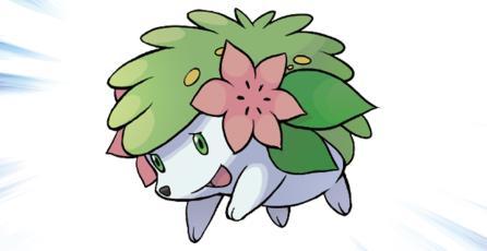 The Pokémon Company regalará a Shaymin durante el mes de julio