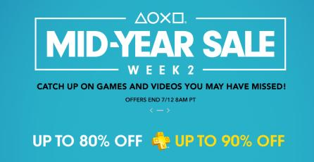 """Mira las ofertas de la segunda semana de """"Mid-Year Sale"""" en PlayStation Store"""