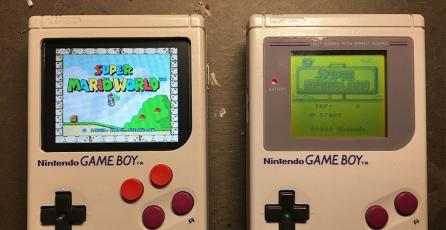 Este Game Boy puede correr juegos de otras consolas de Nintendo