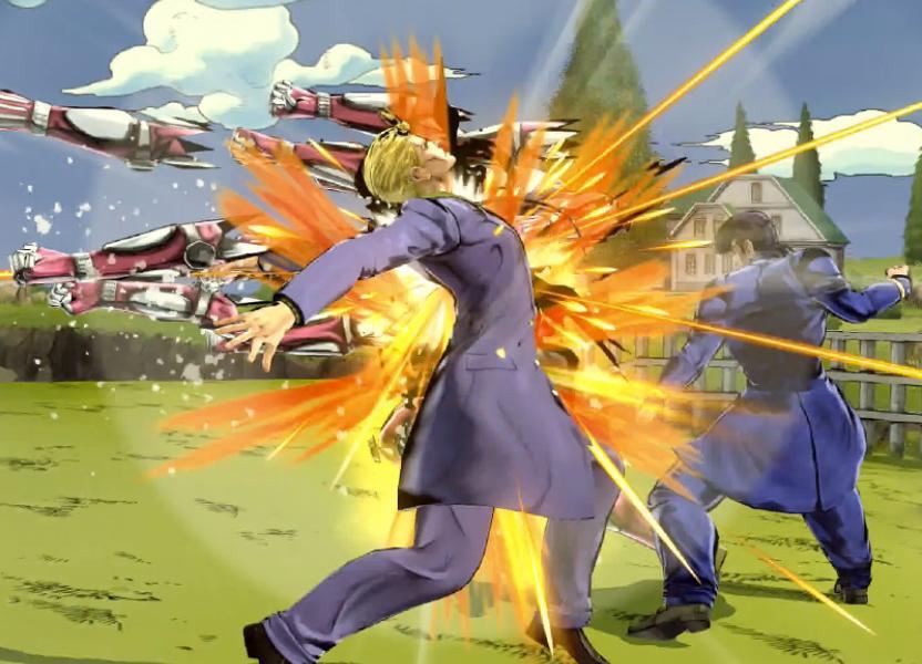 Cuando los personajes no están amontonados, es posible ver grandes secuencias de ataques
