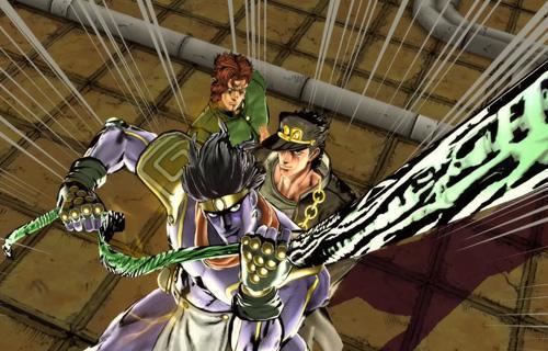 El protagonista principal de la historia es Jotaro Kujo