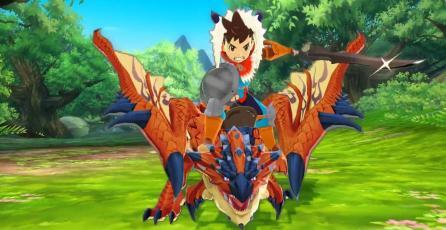 El nuevo trailer de <em>Monster Hunter Stories</em> es colorido y cómico