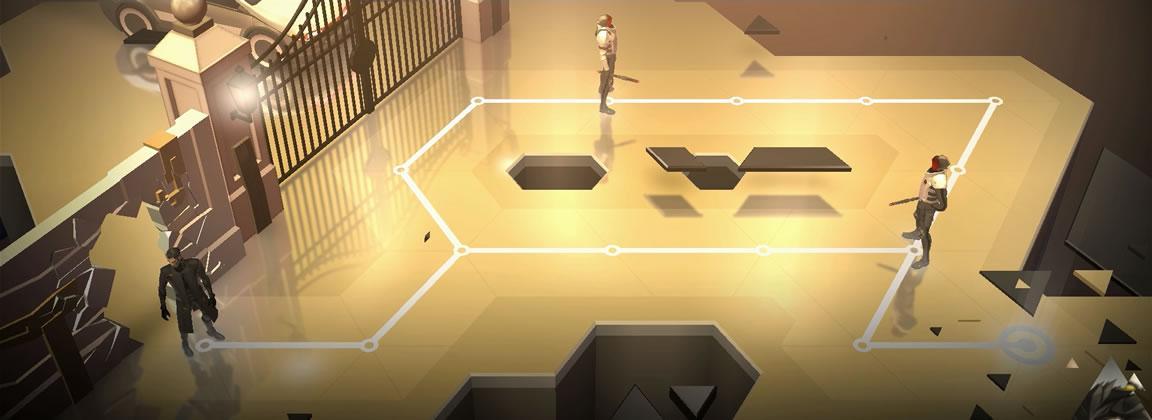 Escenarios minimalistas y violentos derribos distinguen a Deus EX GO