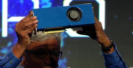 AMD presenta su nueva tarjeta de video <em>Radeon Pro SSG</em>