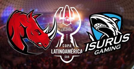 La gran final de la #CopaLatamLoL, Isurus Gaming v/s Kaos Latin Gamers