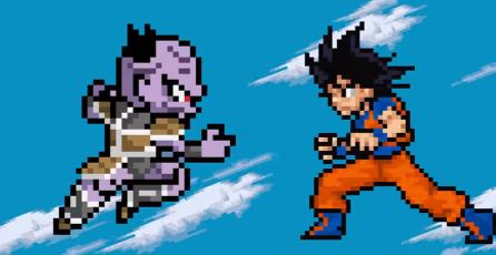 Recrean opening de <em>Dragon Ball Super</em> en Pixel Art