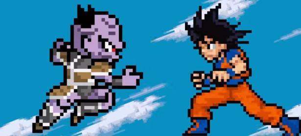 Recrean opening de <em>Dragon Ball Super</em> en Pixel Art