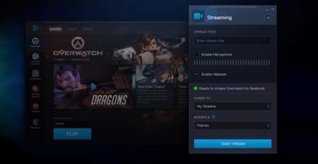 Blizzard estrena su servicio de Streaming para Facebook