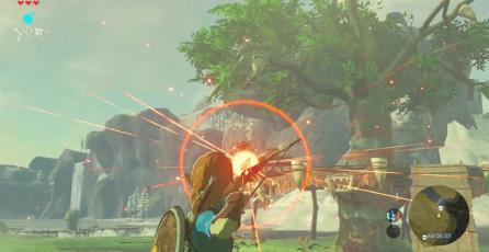 <em>Zelda: Breath of the Wild</em> nos enseña a usar el arco efectivamente