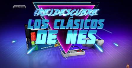 Tráiler de la <em>NES Classic</em> nos muestra la consola al estilo retro