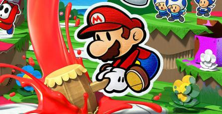 Checa 10 minutos del gameplay de <em>Paper Mario: Color Splash</em>