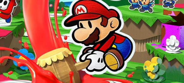 Checa 10 minutos del gameplay de <em>Paper Mario: Color Splash</em>